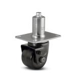 Adjustable Load Caster w/ Top Plate